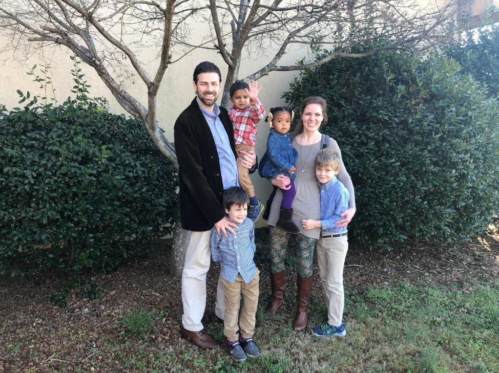 Casteel Family photo